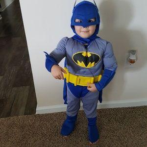 Batman costume toddler 2-4
